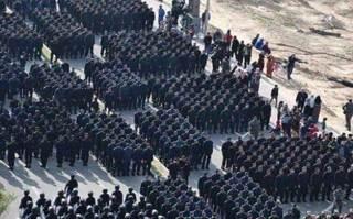 Parade militer Hamas di Gaza (islemmemo)