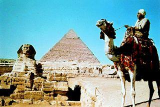 Salah satu tujuan wisatawan di Mesir (arsip)