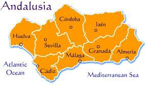 Andalusia - Ilustrasi