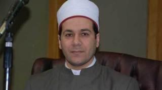 Mazhar Syahin, imam Masjid Makram Ubaid, Kairo (islammemo)