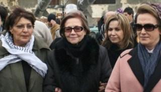 Djamila Bouhired (tengah berkacamata) aktivis perempuan senior Aljazair (paltimes)