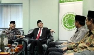 Ketua MUI Din Syamsuddin dan Menteri Agama Suryadharma Ali - Republika.co.id