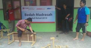 Bedah Madrasah Peduli Kelud PKPU dan CIMB Niaga - Foto: PKPU