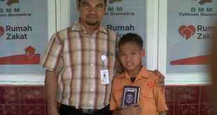 Adzin, Siswa SD Juara Medan - Foto: RZ