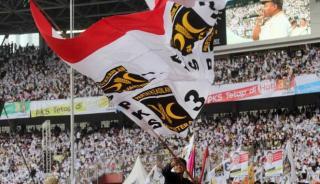 Kampanye terbuka PKS di Gelora Bung Karno (GBK), Ahad (16/3). (Foto: viva..co.id)