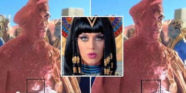 """Lafazh Allah pada video """"Dark Horse"""" Katy Perry dihapus. (Foto: inilah.com)"""