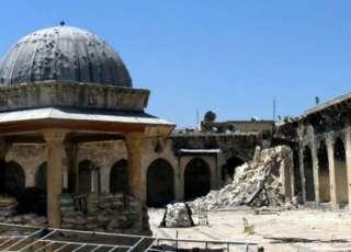 Masjid Umawi di Aleppo (raialyoum)