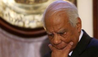 PM Kudeta Hazim Al-Biblawy yang mengundurkan diri pada 24/2/2014 (aljazeera)