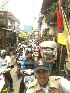 Konvoi simpatik PKS Kebayoran Baru, Jakarta Selatan (pks-kb)