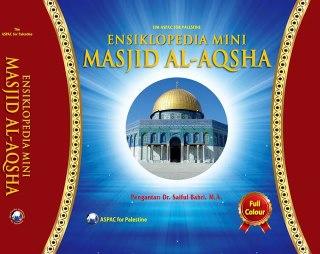 """Cover buku """"Ensiklopedia Mini Masjid Al-Aqsha""""."""