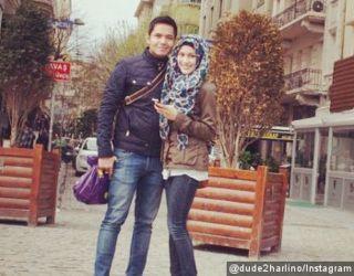 Dude Harlino dan Alyssa Soebandono menghabiskan masa bulan madu di Istanbul, Turki - @dude2herlino/instagram