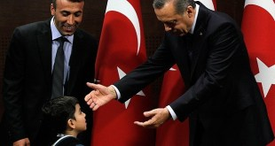 Erdogan menyambut anak-anak dunia (anadolu)