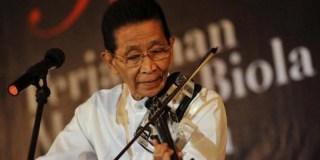 Maestro biola Indonesa, Idris Sardi - (Foto: nasionalgeographic.co.id)