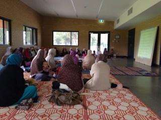 Jalinan Ruhani Muslimah Indonesia di Perth, Australia, RAbu (7/5) - (Foto: Nurul)