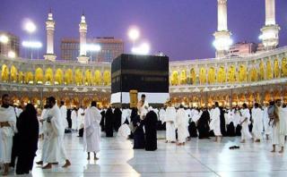 Jamaah Umrah di Masjidil Haram, Makah - (Foto: tribunnews.com)