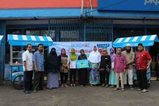 Launching Gerobak Takjil PKPU.  (apn/pkpu)