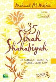 """Cover buku """"35 Sirah Shahabiyah Jilid 2""""."""