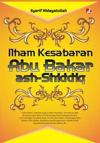 """Cover buku """"Ilham Kesabaran Abu Bakar Ash-Shiddiq""""."""