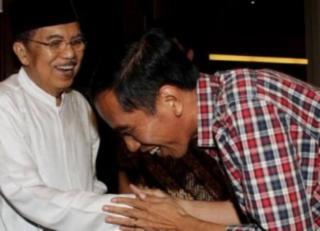 Joko Widodo dan Jusuf Kalla, Pasangan Capres-Cawapres yang diusung PDPI.  (rimanews.com)