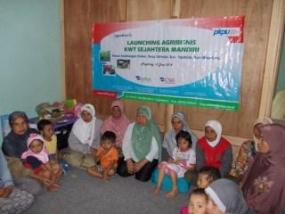 Launching Program Agribisnis di Dusun Gondangan Kulon, Desa Girirejo, Kecamatan Ngablak, Magelang pada Jumat (13/6/2014).  (anisa/pkpu)