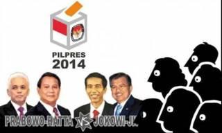 Pemilu Presiden 9 Juli  2014. (asatunews.com)