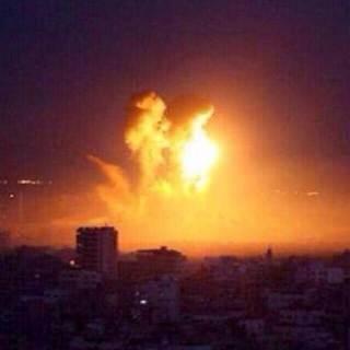 Akibat serangan udara Israel ke Jalur Gaza (islammemo.cc)