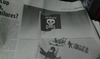 Karikatur di harian The Jakarta Post yang menghina Islam. (republika.co.id)