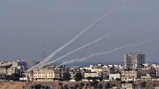 Serangan roket dari Gaza (Islammemo)