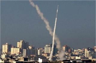 Tembakan roket pejuang Palestina ke wilayah Israel (islammemo.cc)