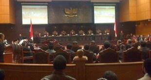 Sidang sengketa pilpres 2014 di Mahkamah Konstitusi. (suara.com)