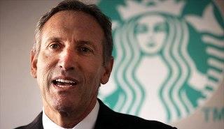 CEO Starbucks, Howard Schultz. (Spencer Platt / Getty Images)