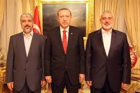 Khalid Misy'al, Erdogan dan Ismail Haniyyah (Palestine Today)