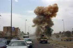 Ilustrasi ledakan bom (Iraq-amsi)