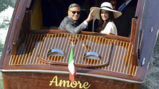 Pernikahan George Clooney dan Amal Alamuddin di Venesia (BBC)