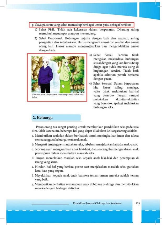 Cuplikan Buku Siswa Pendidikan Jasmani, Olahraga dan Kesehatan (PJOK) SMA Kelas XI Semester 1, Kurikulum 2013. (Ma'mun Gunawan)