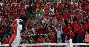 Supporter setia Timnas U-19.  (viva.co.id)