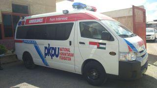 PKPU dan BSMI memberikan bantuan Mobil Ambulans untuk Gaza (kis/pkpu)