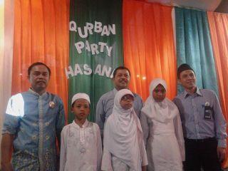 """BNI Syariah Cabang Semarang menggelar beberapa kegiatan yang terhimpun dalam """"Qurban Party Hasanah"""".  (Retno/pkpu)"""