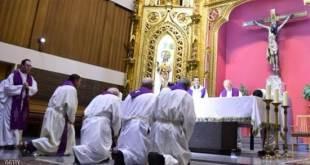 Ilustrasi di dalam gereja (islammemo.cc)