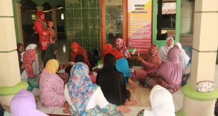 Salah satu kegiatan Tim Medis LKC di daerah Sembalun - Lombok Timur. (LKC DD)