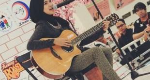 Fatimah Zahratunnisa (Ica) berhasil keluar sebagai juara di kontes menyanyi internasional yang digelar di Jepang, Nodojiman The World. (facebook.com/fatimahzahratunnisa)