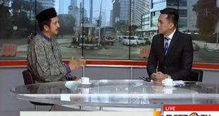 """Cuplikan acara """"Selamat Pagi Indonesia"""" di MetroTV, Selasa (19/1/2016), pukul 07.30 WIB, yang mengklarifikasi pemberitaan MetroTV atas Wahdah Islamiyah. (dakwatuna.com/hdn)"""