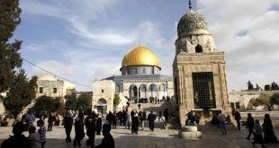 Majid suci Al-Aqsha di kota terjajah Al-Quds. (safa.ps)