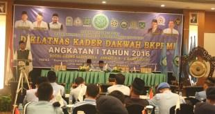 Diklatnas Kader Dakwah BKPRMI di Hotel Sahid Jaya, Jakarta (4-6 Maret 2016). (BKPRMI)