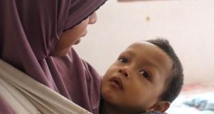Muhamad Fahri (2 tahun) didiagnosa terkena Ensefalitis (Radang Otak)  (Hani/Yakesma)
