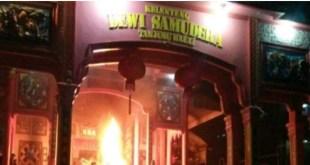 Insiden pembakaran vihara di Tanjungbalai Sumatera Utara bermula menjelang shalat Isya, Jumat (29/7/2016)