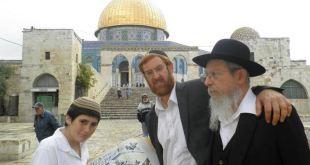 Penjajah Israel nistai masjid Al-Aqsha. (egyptwindow.net)