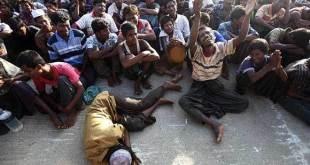 Etnis Rohingya diusir rezim Myanmar dari tanah kelahirannya. (islammemo.cc)