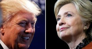 Donald Trump dan Hillary Clinton. (aljazeera)