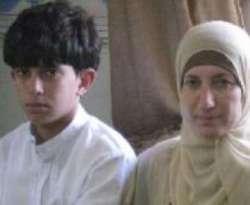 Salah seorang anak Palestina yang ditahan tentara Palestina (Defense for Children International)